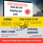 Covid-19 precautions for Drive In Cinema