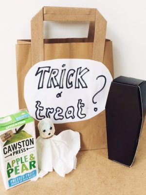 Hallowe'en themed goody bags